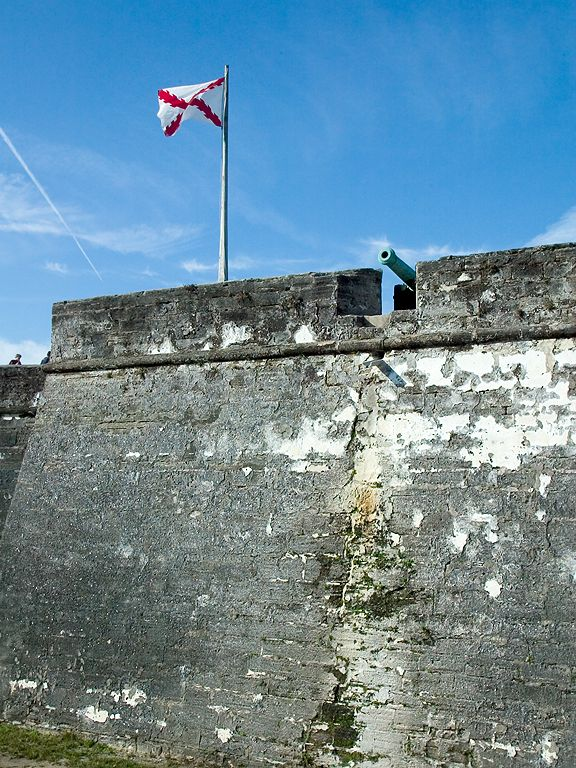 Castillo de San Marcos, St. Augustine.  Click for next photo.