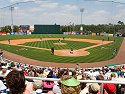St. Patrick´s Day at Hammond Stadium, spring training home of the Minnesota Twins in Ft. Myers, Florida, 2008.